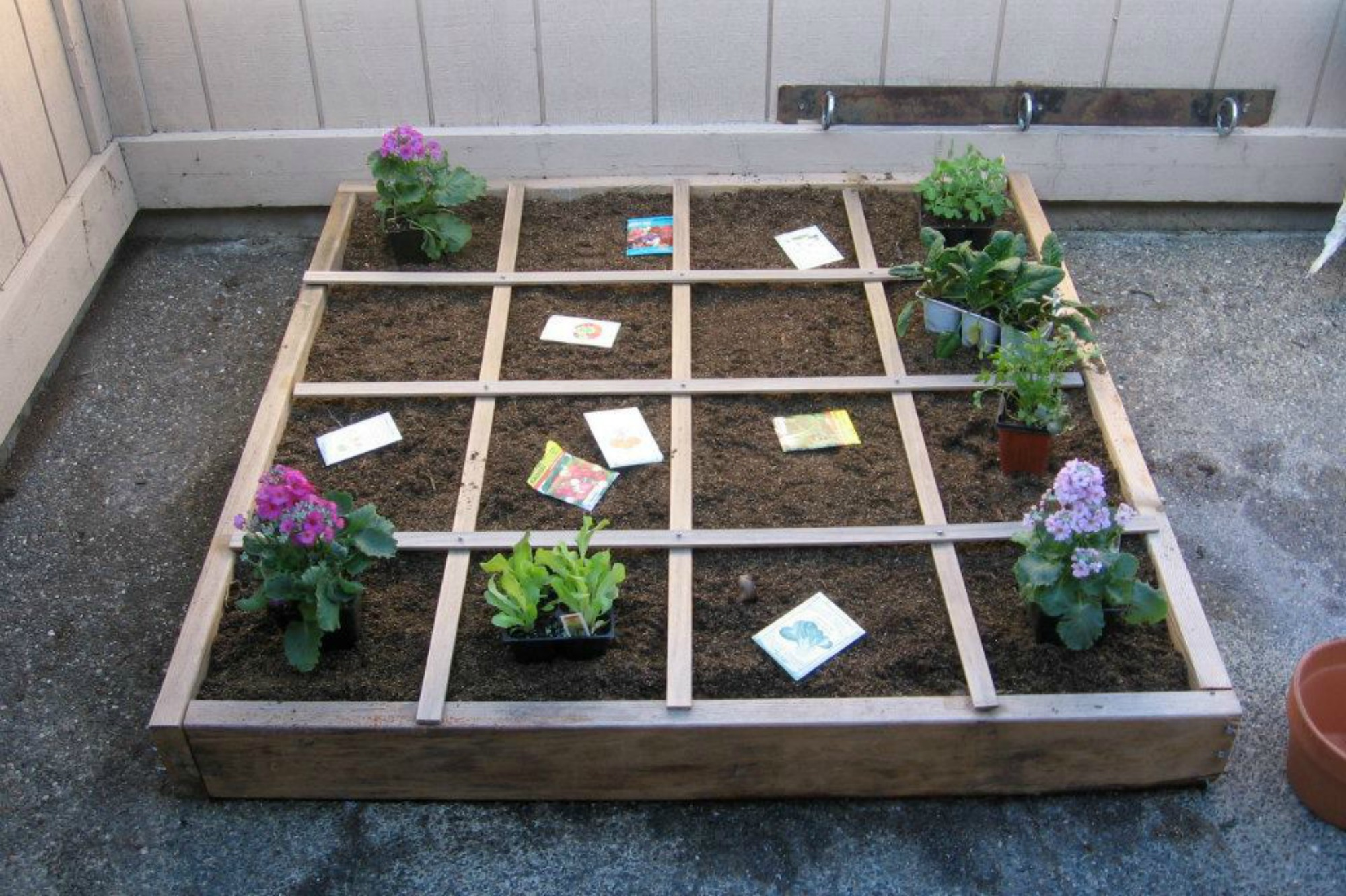 square foot garden layout blogpost